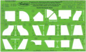 Green HVAC Fitting Shape Template
