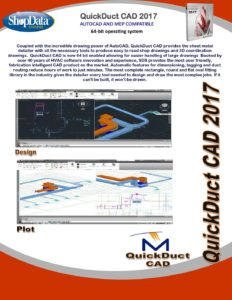 QuickDuct CAD™ | ShopData Systems